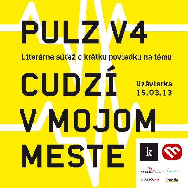 Poznme vazov medzinrodnej literrnej sae PULZ V4: Cudz v mojom meste