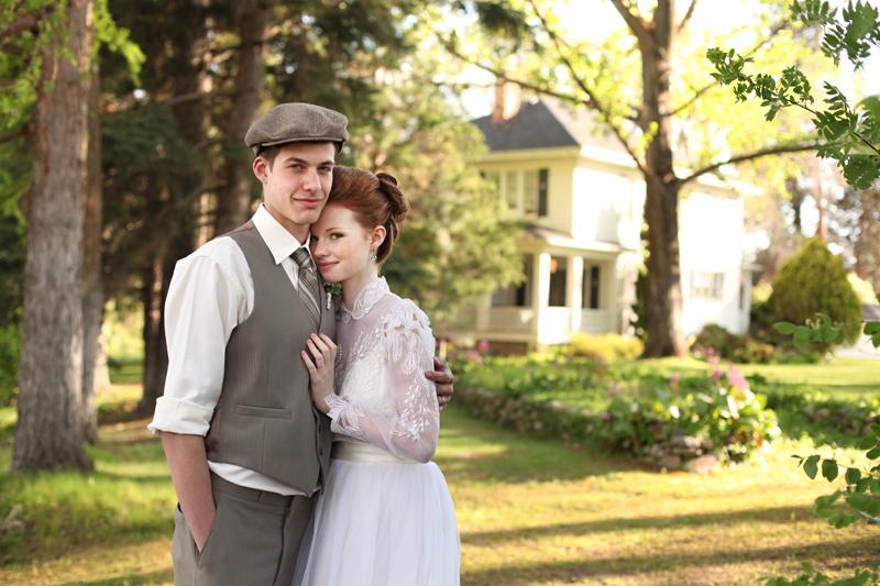 Najkrajšie svadobné fotky, aké ste videli, v štýle Anny zo Zeleného domu