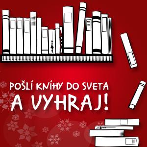 Pošlite knihy do sveta a vyhrajte!