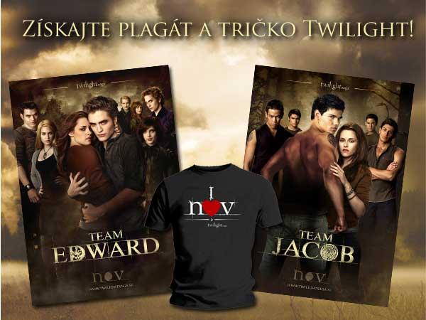 Získajte plagát a tričko Twilight!